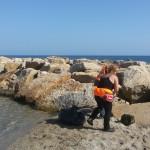 Pulizia spiagge Acque Dolci