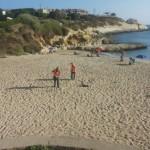 Pulizia spiaggia Balai