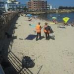 Pulizia spiaggia Scoglio Lungo
