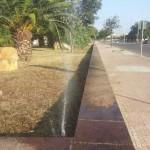 Ripristino impianto irrigazione giardini via marche