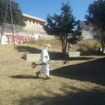 pulizia scuola Monte Angellu